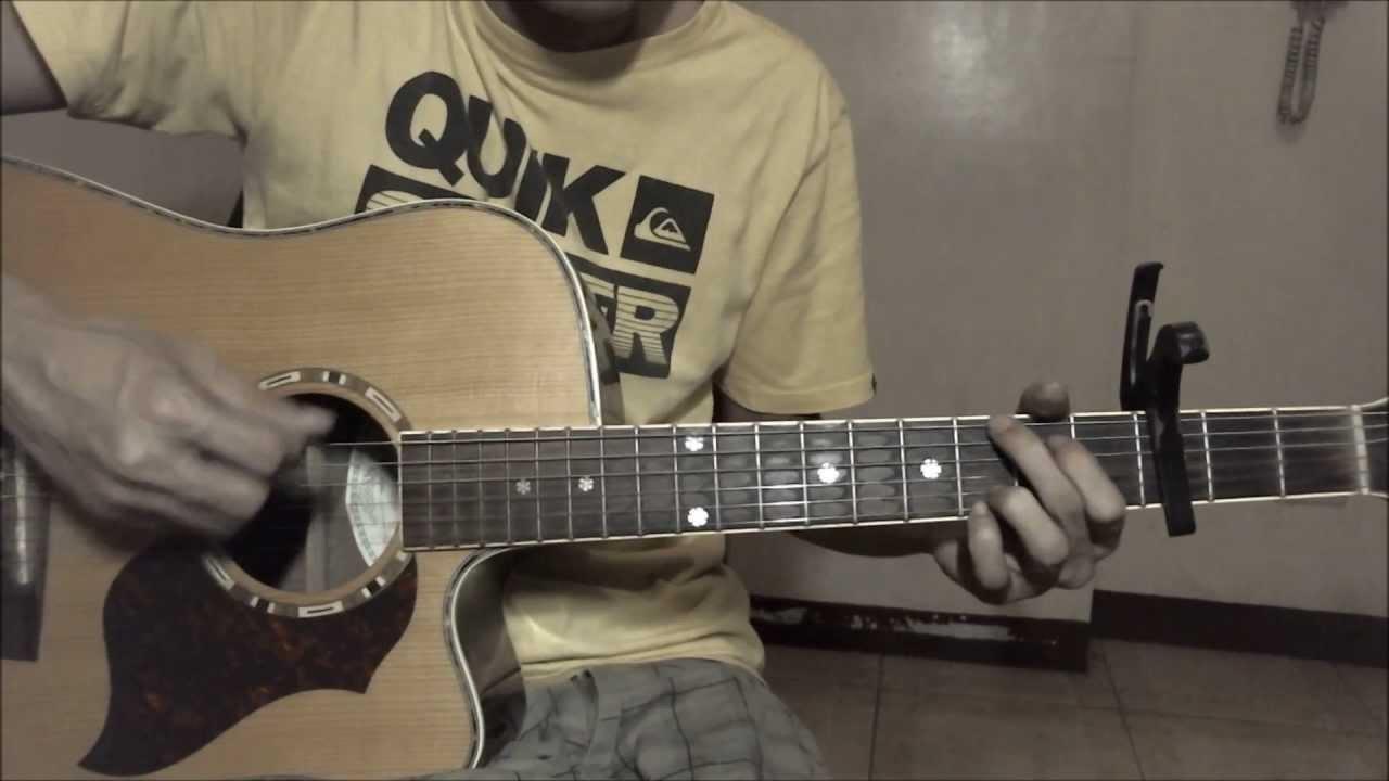 Breakeven Chords The Script Chordsworld Hd Guitar Tutorial
