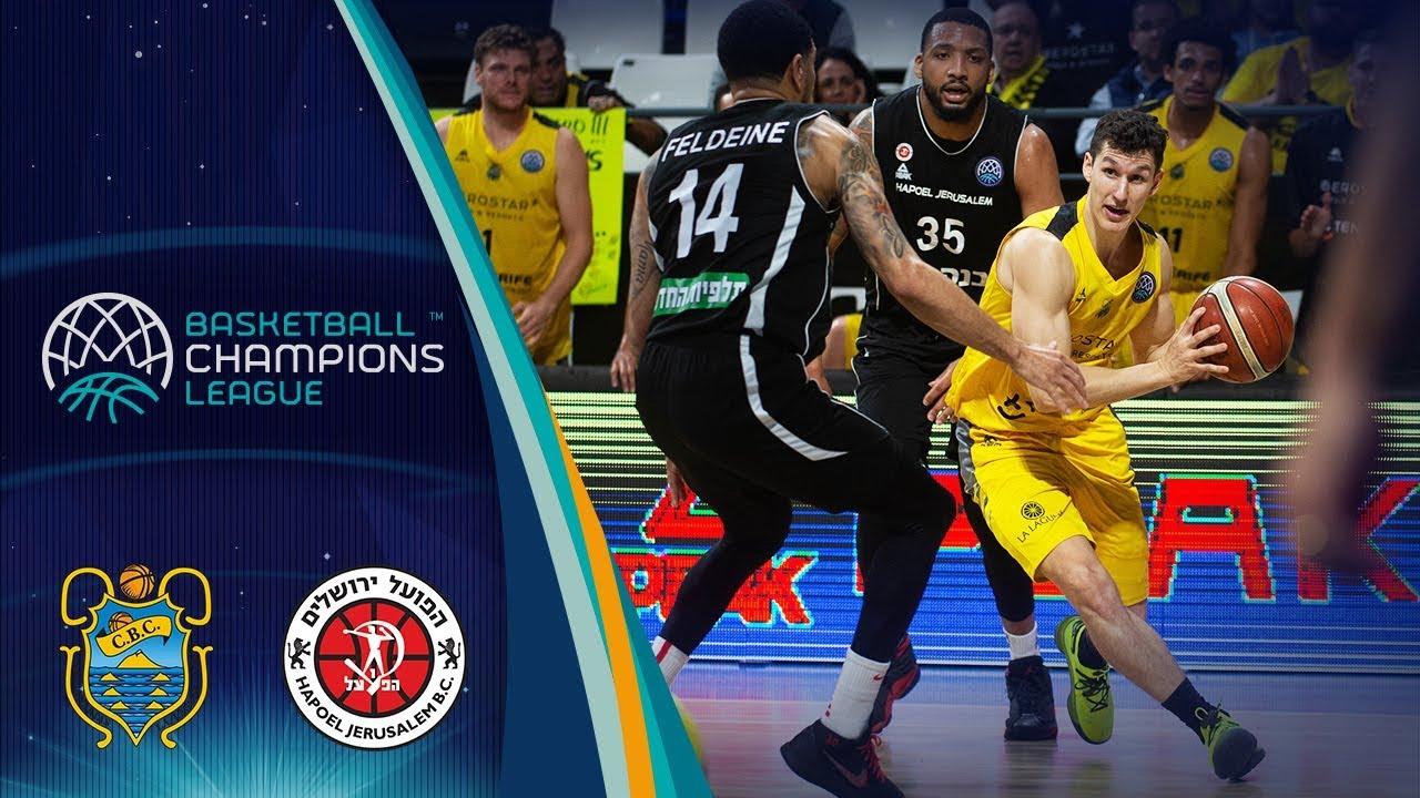 Iberostar Tenerife v Hapoel Jerusalem - Q.F. - Highlights - Basketball Champions League 2018