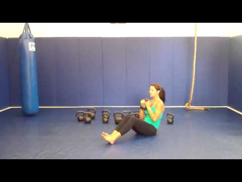 Video: Russian Twist with Kettlebell