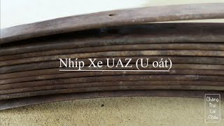 Mang Nhíp Xe UAZ (Nhíp U Oát) Huyền Thoại Cho Chú Chỉnh Đánh Dao Mèo