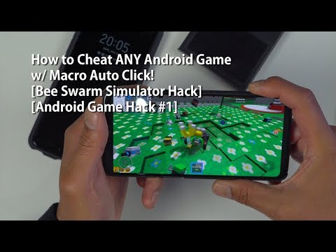 How To Cheat ANY Android Game W/ Macro Auto Click! [Bee Swarm Simulator Hack][Android Game Hack #1]