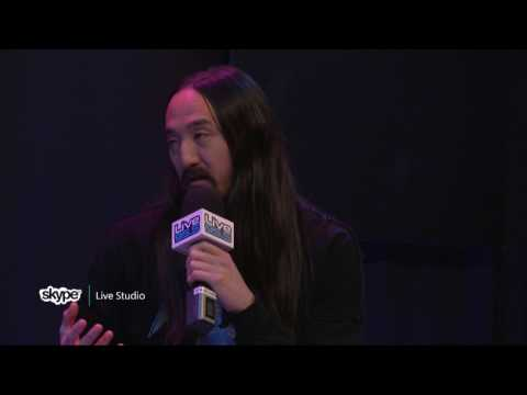 Steve Aoki - Interview (part 1) (LIVE 95.5)