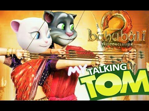 Veeron Ke Veer Aa   Talking Tom Version   Bahubali 2 - The Conclusion   Veero Ke Veer Aa