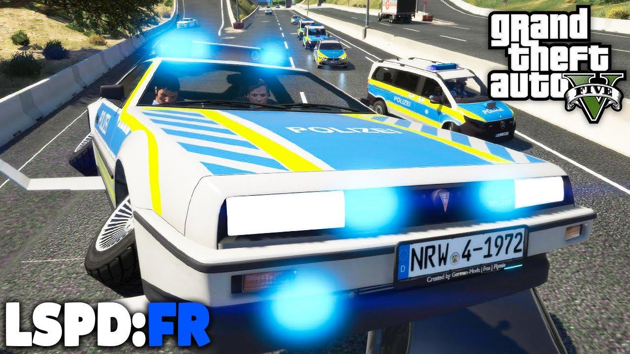 GTA 5 LSPD:FR - FLIEGENDES POLIZEIAUTO im EINSATZ! - Deutsch - Polizei Mod #87 Grand Theft Auto V