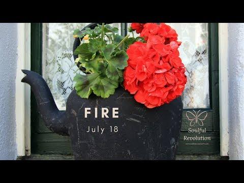 A leap of faith, FIRE Sign July 18 Aries Leo Sagittarius