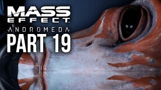 MASS EFFECT ANDROMEDA Walkthrough Part 19 - HUNTING THE ARCHON (Female) Full Game