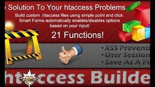 файл htaccess онлайн. Бесплатный htaccess генератор