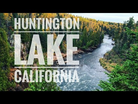 Huntington Lake California - video