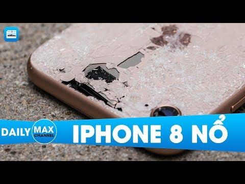 MaxDaily 19/10: Vụ nổ iPhone 8 đầu tiên do lỗi pin