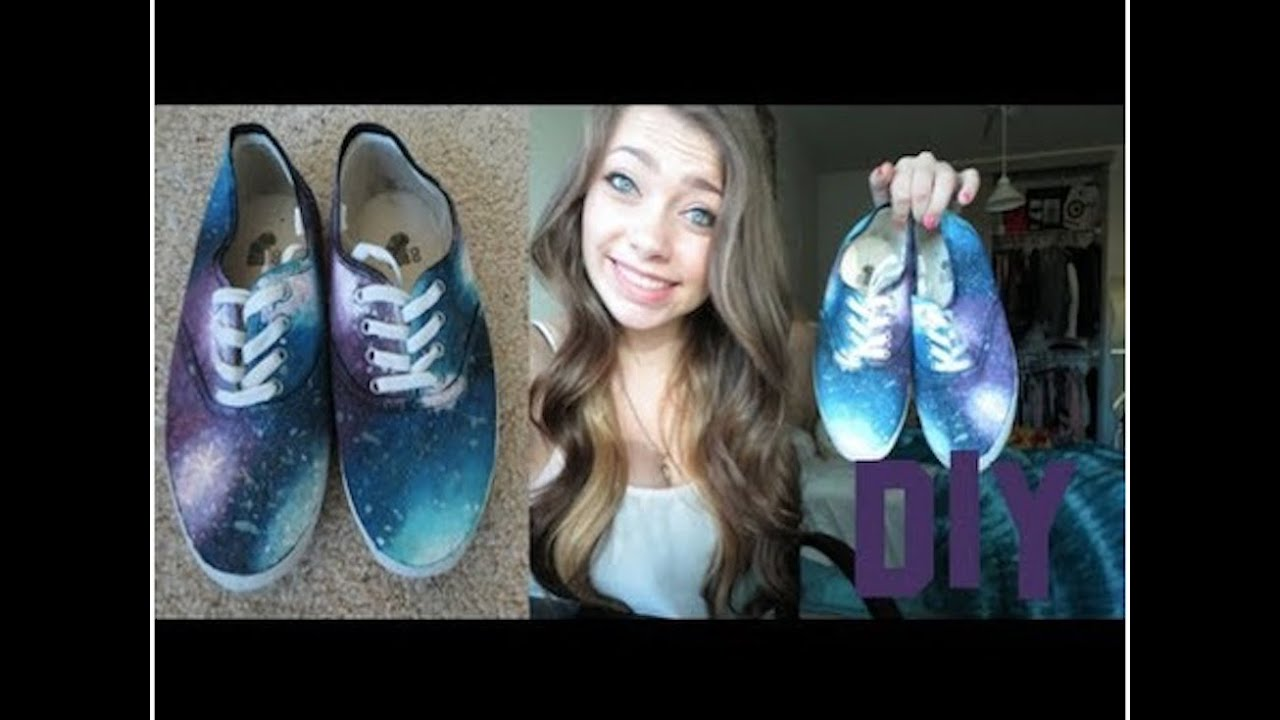 DIYGalaxy Shoes!YouTube