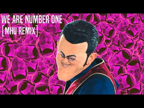 LazyTown We Are Number One [MHU REMIX]