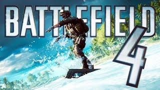 Battlefield 4 Random Moments 64 (Surfing Soldiers, Tank Trolling!)