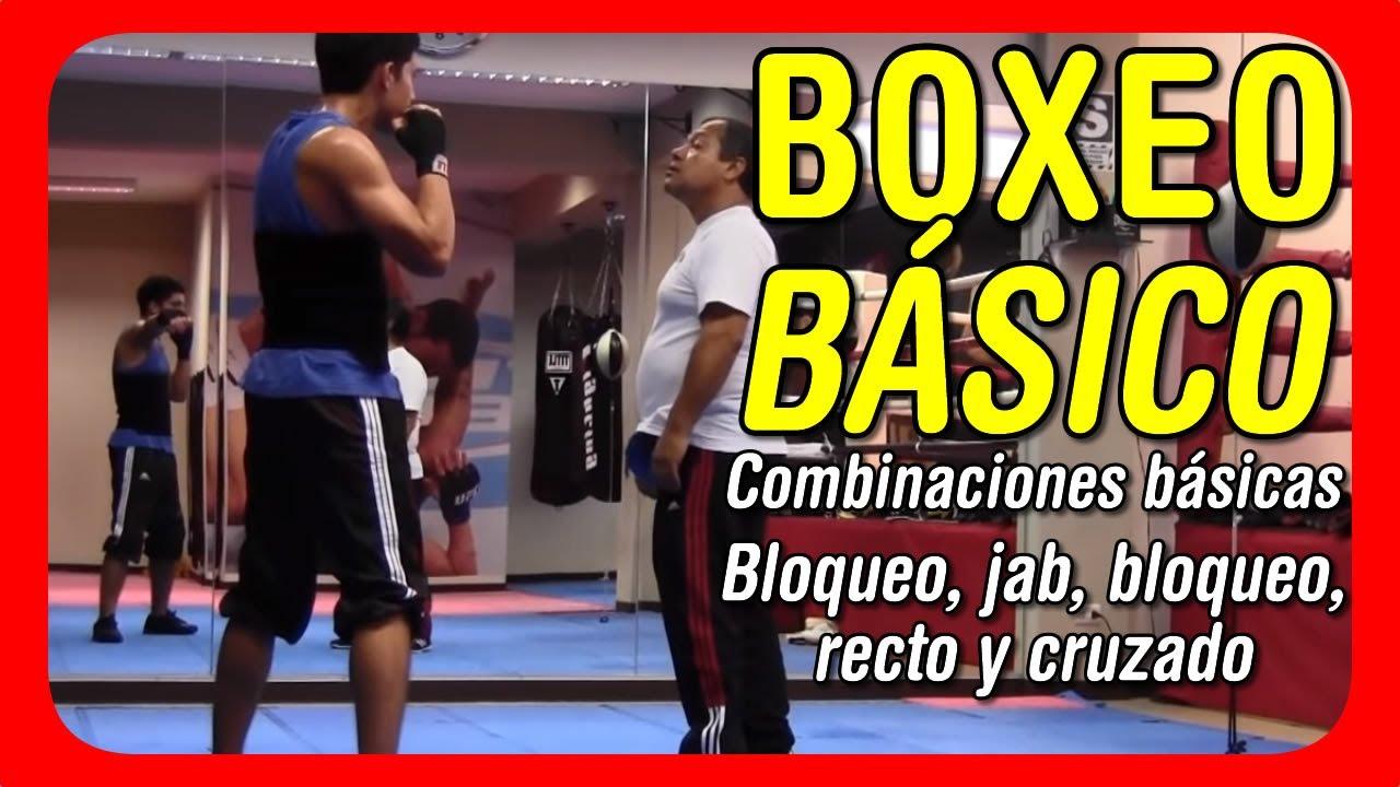 Clases De Boxeo  Combinaciones B U00e1sicas