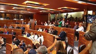 Sesión constitutiva de la Junta General de Principado de Asturias