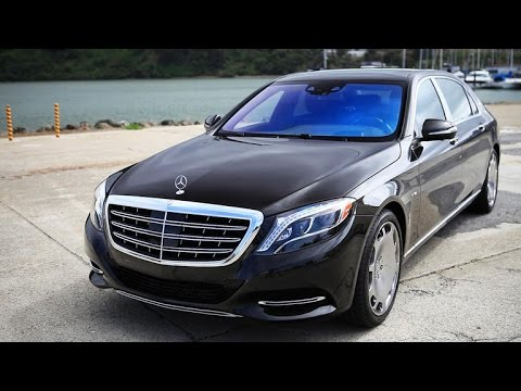 On the road 2016 Mercedes Maybach S600