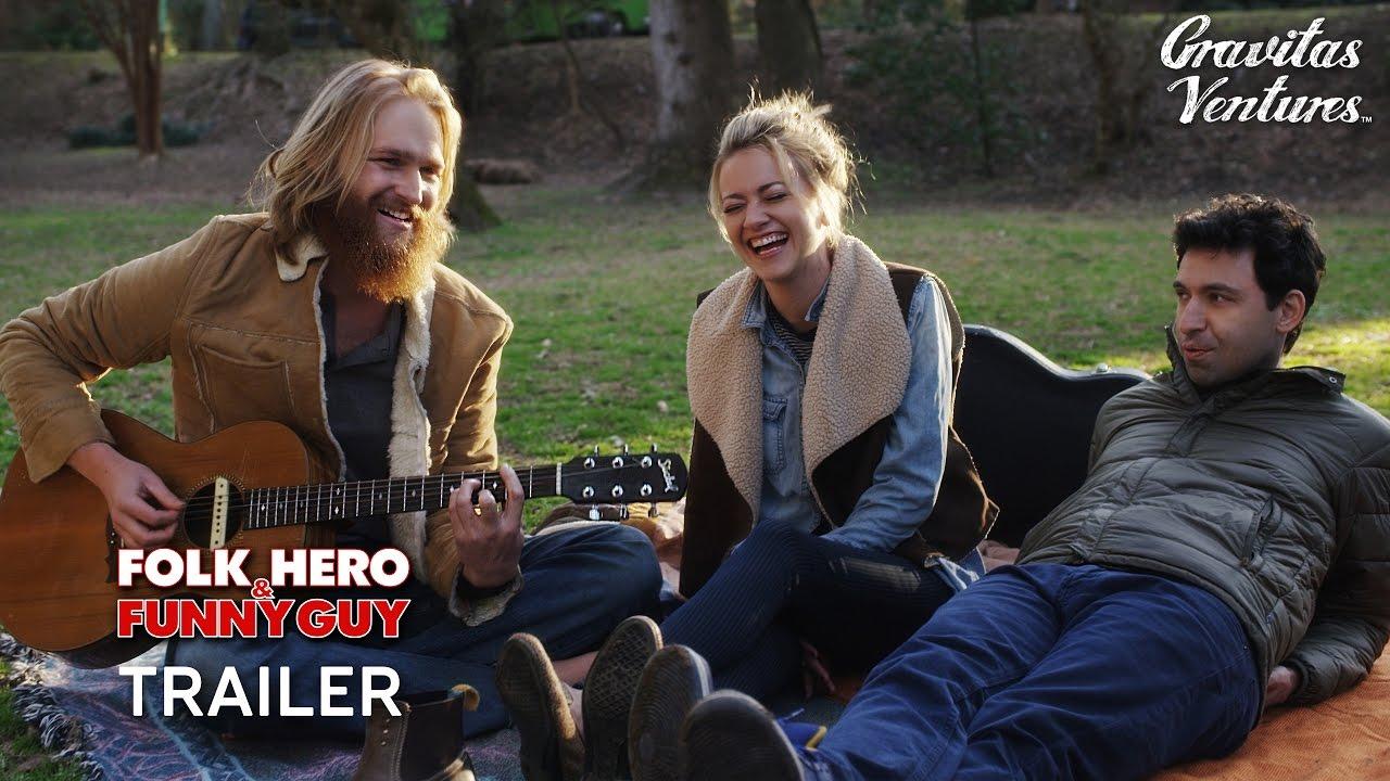 Folk Hero & Funny Guy Trailer   Alex Karpovsky, Wyatt Russell Comedy Movie HD