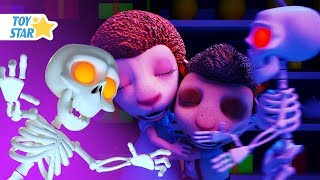 New 3D Cartoon For Kids ¦ Dolly And Friends ¦ Night In The Supermarket With Kids Toys #120
