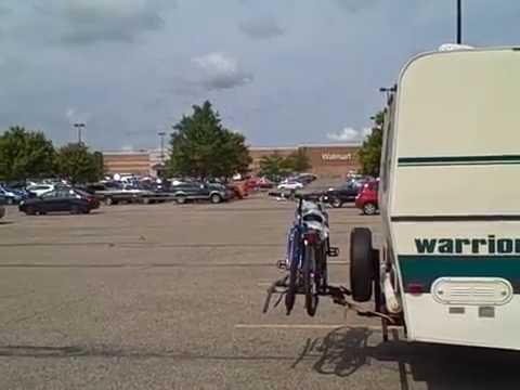 Athens Ohio, Walmart Parking lot Bondock Camping August 2016