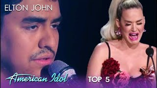Alejandro Aranda: Katy Perry BREAKS DOWN As Alejandro Rules The Night | American Idol 2019