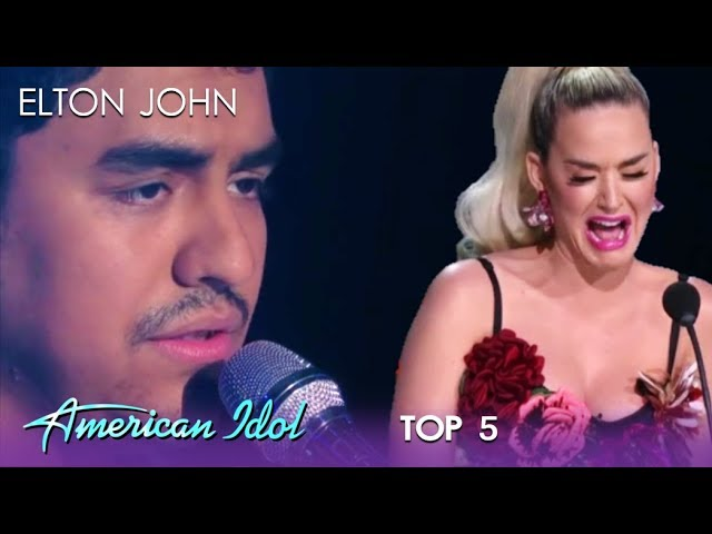 Alejandro Aranda: Katy Perry BREAKS DOWN As Alejandro Rules The Night   American Idol 2019