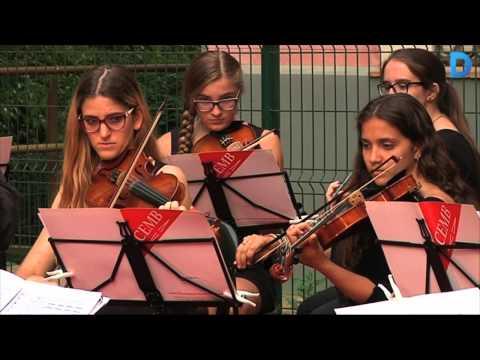 La música clàssica envaeix el pantà de Vallvidrera
