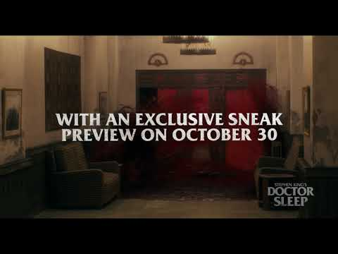 STEPHEN KING'S DOCTOR SLEEP – Early Access Screenings with Fandango on Oct 30!