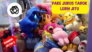 PAKE JURUS TABOK!! LEBIH JITU! CLAW MACHINE #夾娃娃