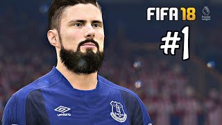 FIFA 18 Everton Career Mode Episode 1 - Transfers & First Game | Xbox One Gameplay