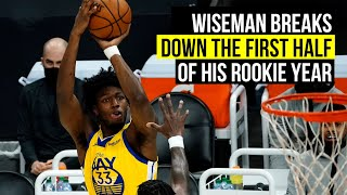 Wiseman talks about what he learned in the first half of his rookie season