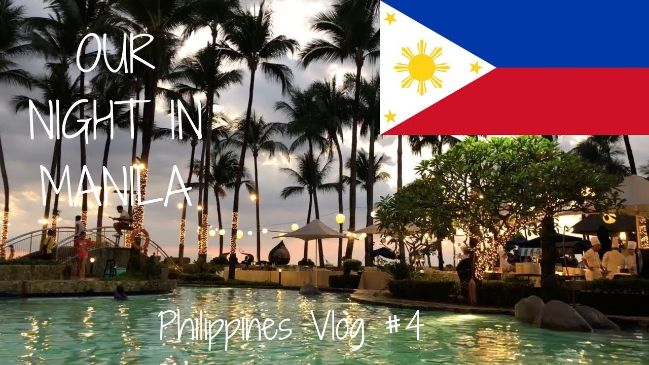 OUR NIGHT IN MANILA   Philippines Travel Vlog 4 - YouTube