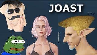 Alpha Janet vs Toast Troll - JOAST MEME DRAMA #46 - BLESS ONLINE