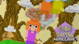 Minecraft Build Battle - VOANDO ENTRE NUVENS (Em dupla)