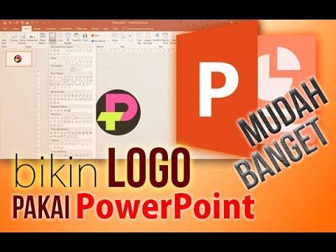 Cara Membuat Logo dengan PowerPoint