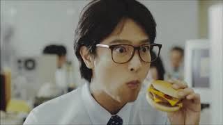 堺雅人、堺雅人「変わらない、おいしさ。ダブルチーズバーガー」篇 マクドナルド 「変わらない、おいしさ。ダブルチーズバーガー」篇 15秒 「変わらない、おいしさ。ダブルチーズ ...
