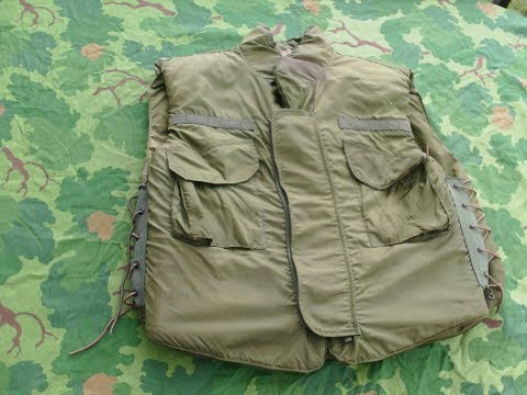 US Military Vietnam Era M-69 Flak Vest