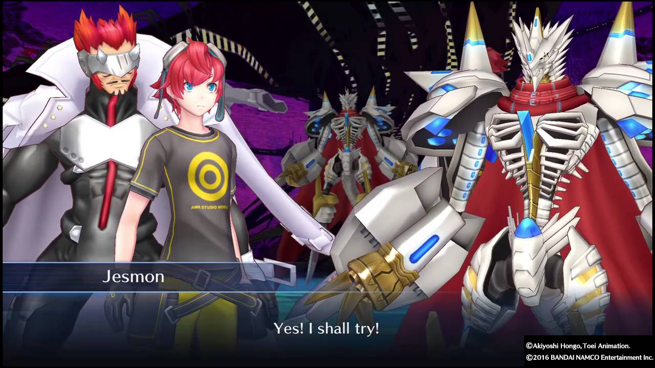 Hackmon Digivolves in Digimon Story: Cyber Sleuth - YouTube