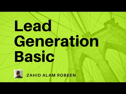 Lead Generation Step by Step Tutorial