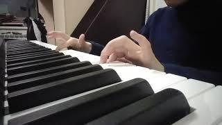 Пираты карибского моря на пианино (лёгкая версия)