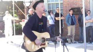 "Billy Bragg ""Save The Country"" Chapel Hill 11-1-08"