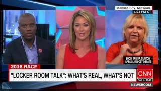 Repeat youtube video Trump supporter leaves CNN anchor speechless | CNN Special I Full Video