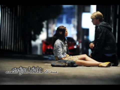 Sterling Knight - What you mean to me [ lyrics ]