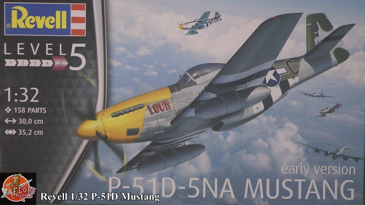 revell 1 32  Revell 1/32 P-51D Mustang review - YouTube