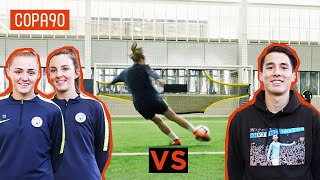 Amateur vs Man City Pros! | Shooting Challenges: Timbsy vs The World