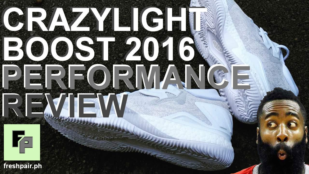 cc2be3d4569 ADIDAS CRAZYLIGHT BOOST 2016 Performance Review - YouTube
