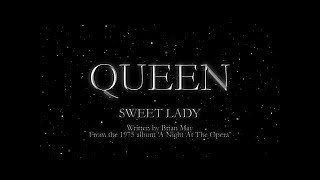 Queen - Sweet Lady (Official Lyric Video)
