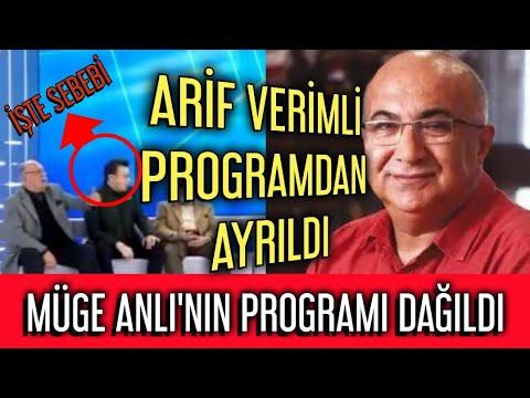 Arif Verimli programdan ayrıldığını twitter'dan duyurdu.Şevki Sözen'e küstüm dedi. indir