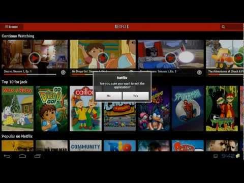 XIOS DS-ICS Official Netflix Android App Fix