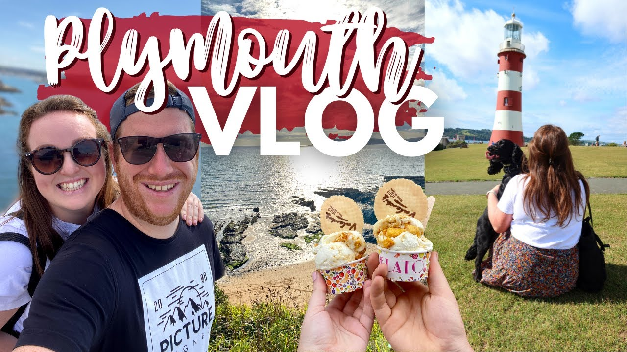 DEVON STAYCATION VLOG! 🌊 Airbnb with private mini golf & hot tub! • dog friendly Plymouth weekend