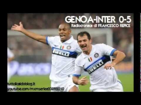 GENOA-INTER 0-5 - Radiocronaca di Francesco Repice (17/10/2009) Radio Rai