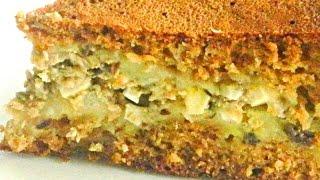 Пирог с Рыбными Консервами в Мультиварке кулинарный видео рецепт